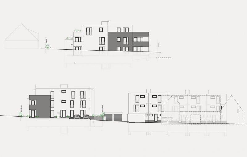 Architektur MFH Bernhausen