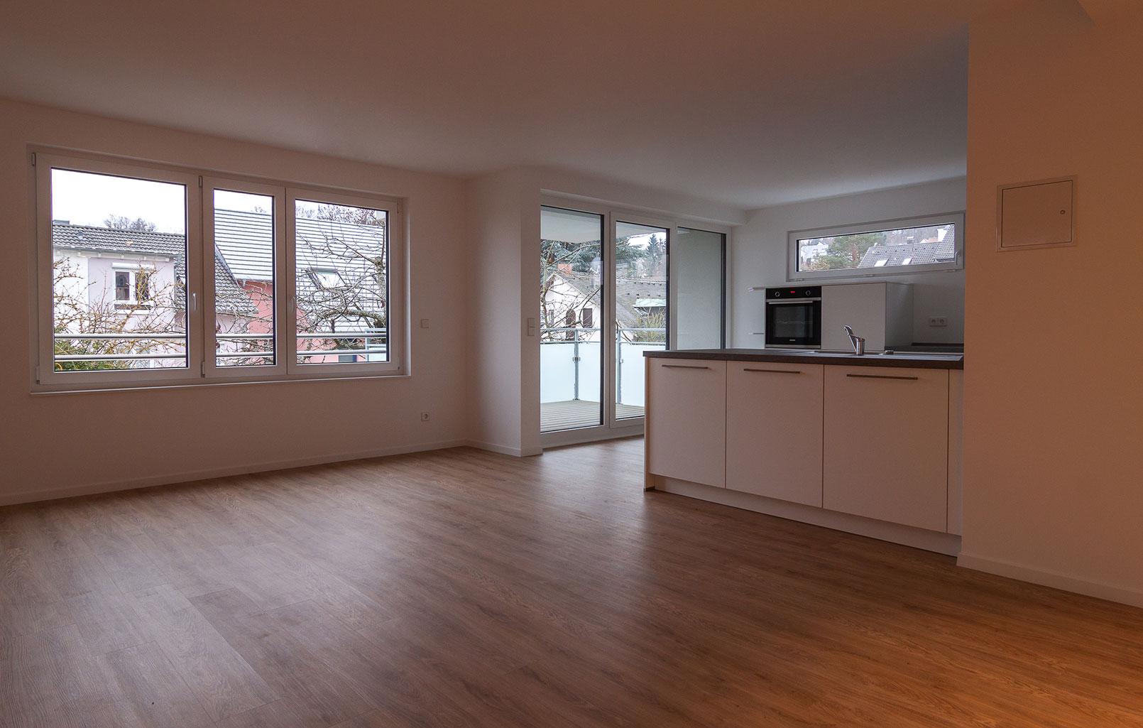 Vaihingen Innenarchitektur Küche mit Wohnzimmer
