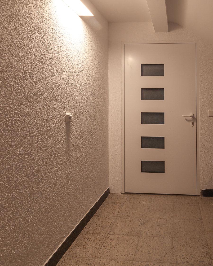Vaihingen Innenarchitektur Außentür