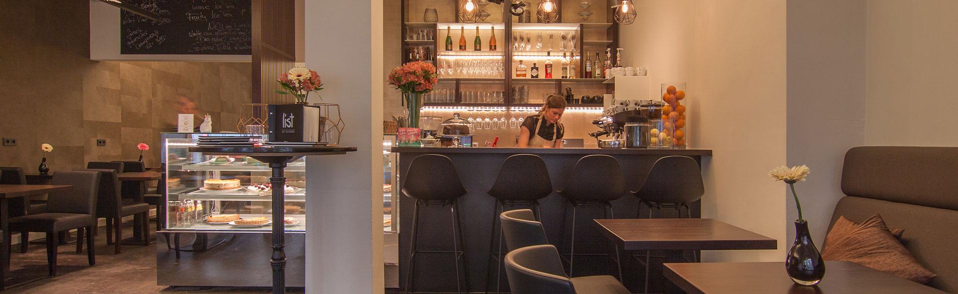 Cafe List schöne Gastronomie